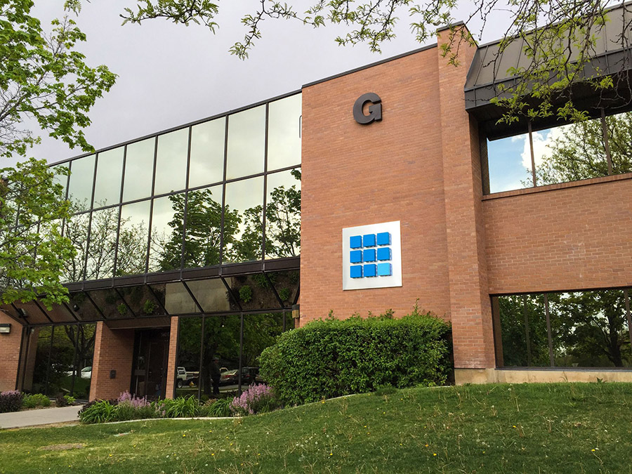 Bluehost's headquarters in Orem, Utah
