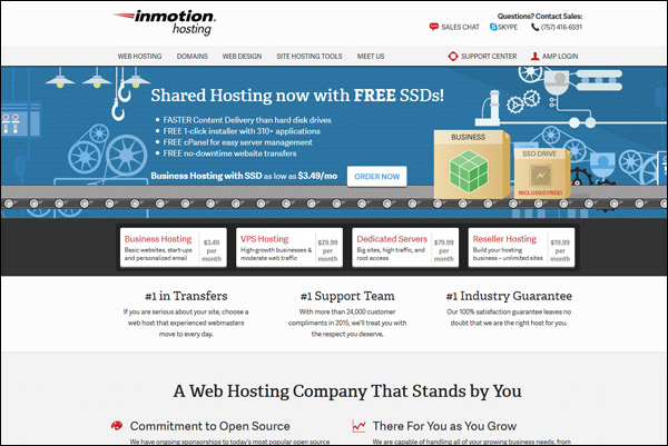 InMotion Hosting - Awarded #1 Top VPS Hosting Provider