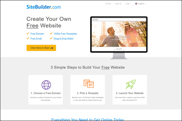 SiteBuilder - Awarded #2 Top Website Builder