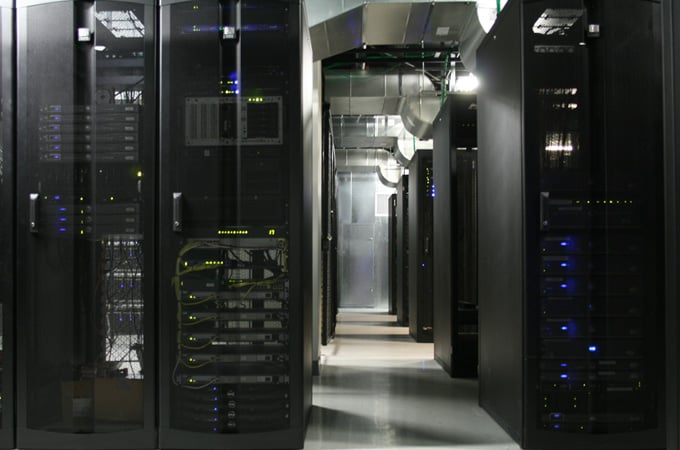 Web Hosting Hub's West Coast data center